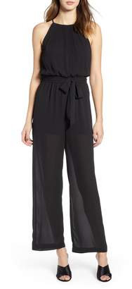 a46ebf21a7e9 ALL IN FAVOR Blouson Chiffon Jumpsuit