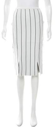 Timo Weiland Striped Knee-Length Skirt w/ Tags