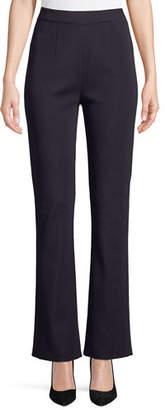 Misook Boot-Cut Knit Pants, Petite