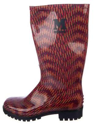 Missoni Printed Rubber Rainboots
