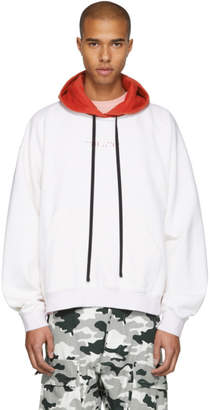 Unravel White Tattoo Pullover Hoodie