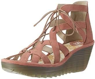 Fly London Women's YELI719FLY Heels Sandals,40 EU