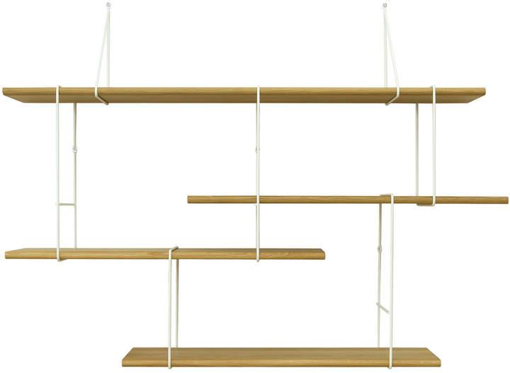 Studio Hausen - Link Setup 1, Eiche natur / weiß