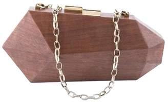 Fractal Wooden Clutch