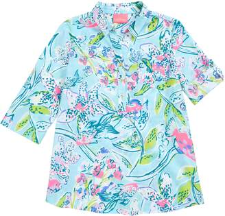 dc34dd6b41646 Lilly Pulitzer R) Natalie Cover-Up Shirtdress