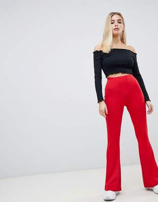 Asos (エイソス) - ASOS DESIGN basic kick flare leggings