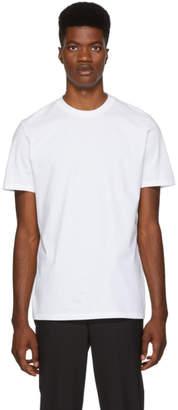 Neil Barrett Three-Pack Black and White T-Shirt