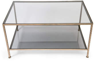clear Kathy Slater Design Collection Lowerline Coffee Table
