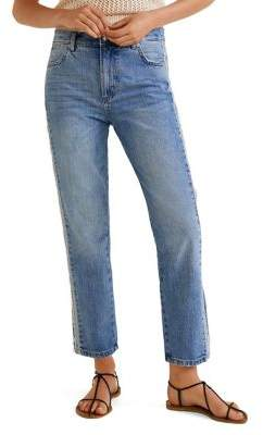 MANGO Classic Straight-Fit Jeans