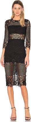 Karina Grimaldi Shell Lace Dress