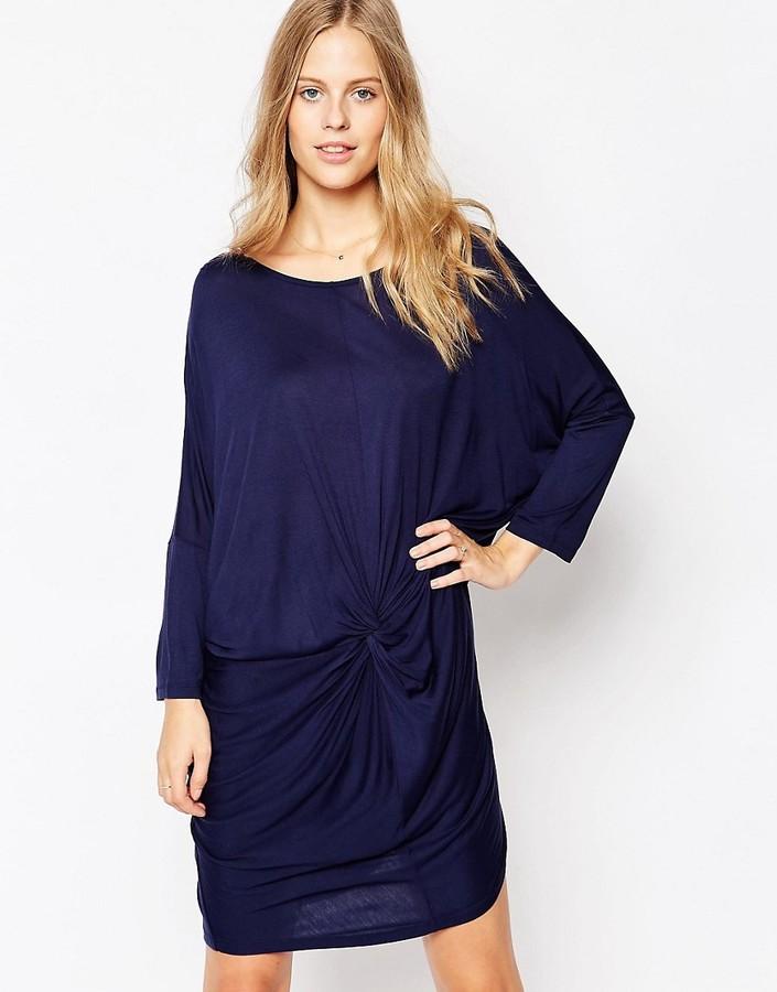 Soaked In Luxury 3/4 Sleeve Shift Dress