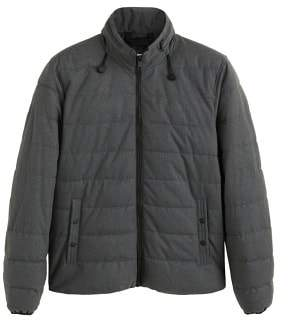 Mango man MANGO MAN Concealed hood quilted jacket