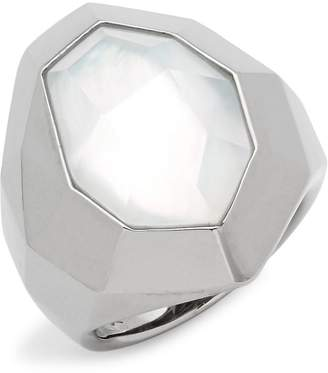 Michael Aram Women's Mother of Pearl Sterling Silver Ring