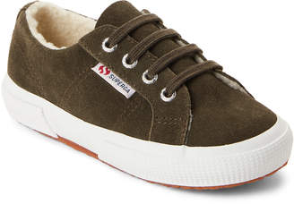 Superga Kids Girls) Military 2750 Fleece-Lined Low-Top Sneakers
