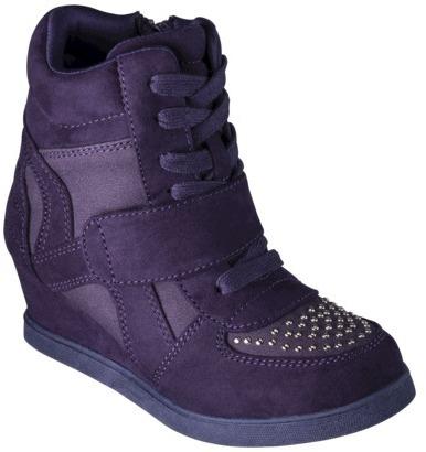 Girl's Cherokee® Harmony Casual Sneaker Wedge - Purple