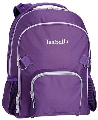 Pottery Barn Kids Fairfax Solid Purple Lunch Bag