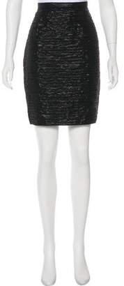 Dolce & Gabbana Knee-Length Metallic Skirt w/ Tags