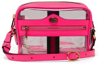 Gucci Ophidia Mini Transparent Cross Body Bag - Womens - Pink