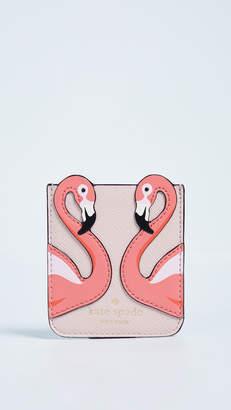 Kate Spade Flamingo Sticker Pocket