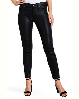 Standards & Practices Back Zip Cropped Skinny Jeans