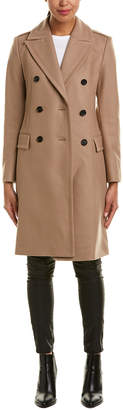 Reiss Betty Wool-Blend Military Coat
