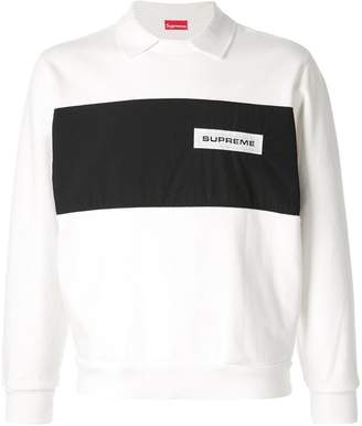 Supreme polo crewneck jumper