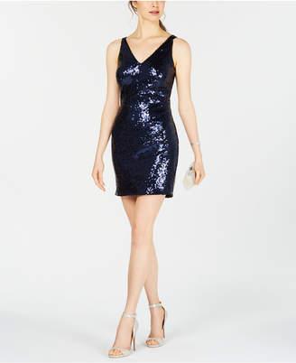 Night Way Nightway Petite Sequin Sheath Dress
