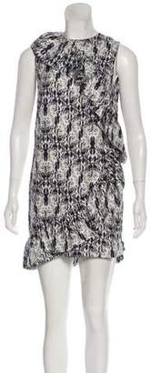 Thomas Wylde Printed Silk Dress w/ Tags