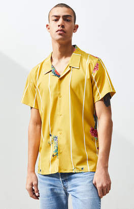 PacSun Flores Button Up Shirt