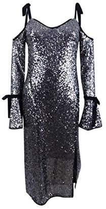 Rachel Roy Women's Sequin Bell Sleeve Dress