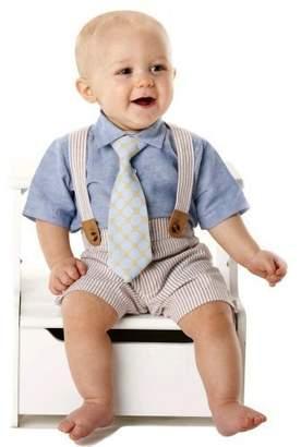 Mud Pie Baby Boy 3-Piece Seersucker Set (12-18 months)