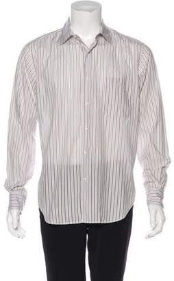 Loro Piana Striped Dress Shirt