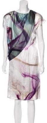 Josie Natori Sleeveless Midi Dress w/ Tags