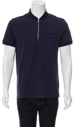 Versace Zip-Up Polo Shirt w/ Tags