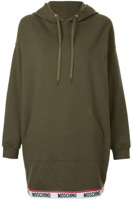 Moschino hooded sweatshirt dress
