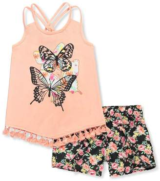 Dollhouse Little Girls' 2-Piece Outfit