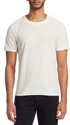 Saint Laurent Short-Sleeve Cotton Tee