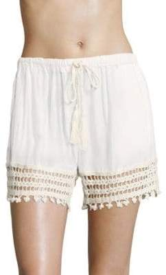 Anna Kosturova Swim Cairo Laced Shorts