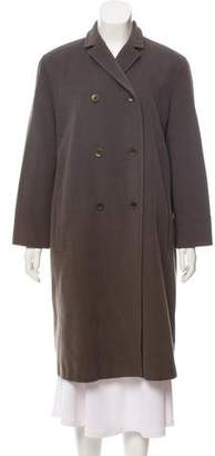 Calvin Klein Collection Long Double-Breasted Coat
