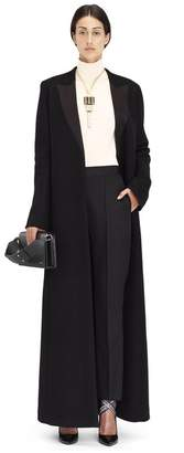 Lanvin Long Black Double Cashmere Coat
