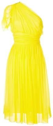 No.21 one shoulder midi dress