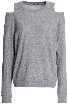 Monrow Cold-shoulder Jersey Top