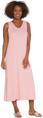Anybody AnyBody Loungewear Regular V-Neck Cozy Knit Maxi Dress
