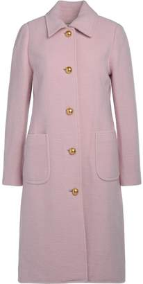 Tory Burch Colette Red Mixed Wool Coat