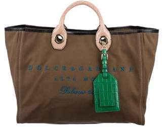 Dolce & Gabbana Special Order Canvas Tote