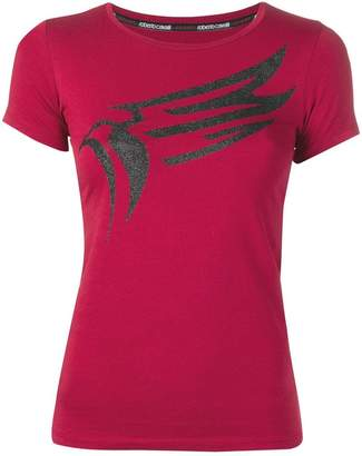 Roberto Cavalli printed eagle T-shirt