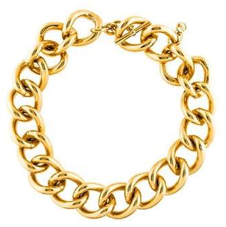 Michael Kors Chunky Curb Link Necklace