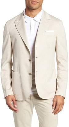 Eleventy Jersey Trim Fit Sportcoat