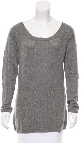 pradaPrada Cashmere Scoop Neck Sweater