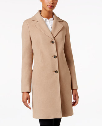 Calvin Klein Wool-Cashmere-Blend Walker Coat $325 thestylecure.com